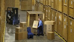 moving companies warehouse