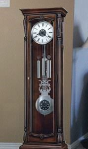 Nice Grandfather clock in persons home in the foyer