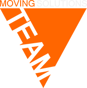 moveON moving solutions brand triangle logo