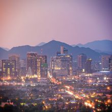 Photograph of downtown phoenix arizona