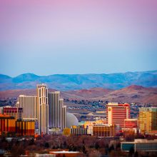 Photograph of Downtown Reno Nevada