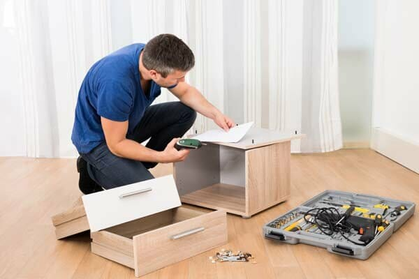 professional assembling home furniture