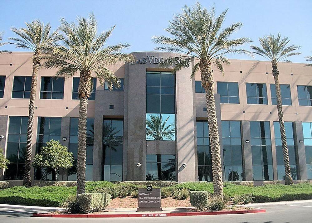 Las Vegas Sun Newspaper Office Building In Henderson, NV