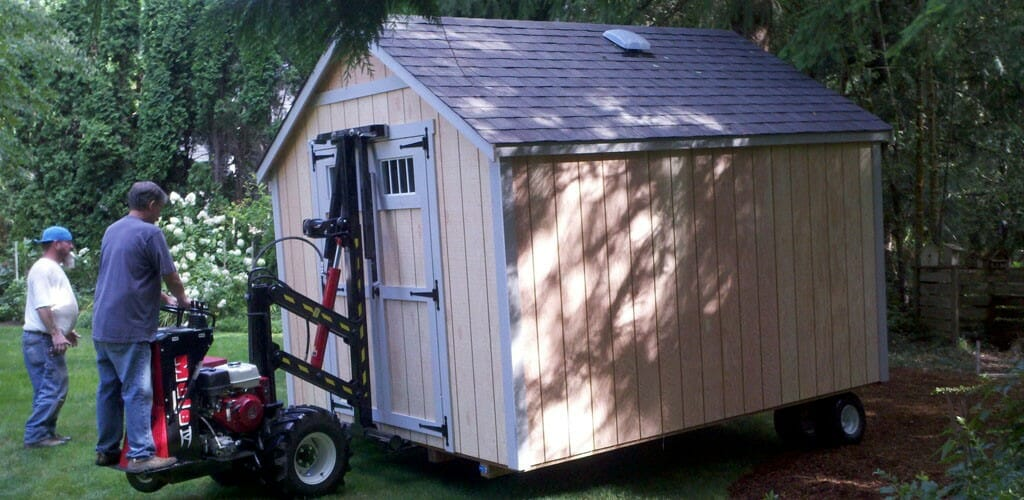 How to Move a Shed (The Ultimate Guide) - moveON moving