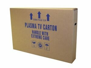 special moving box for flatscreen tv