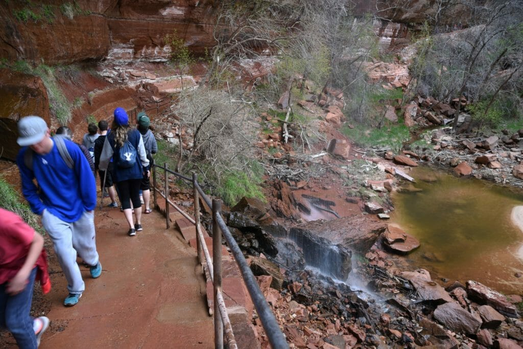 Emerald Pools Zion National Park Utah