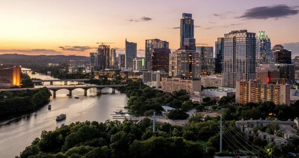 Downtown Austin TX