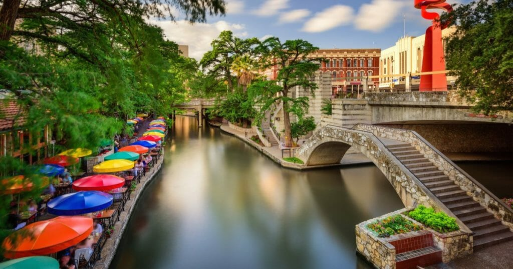 San Antonio TX Riverwalk